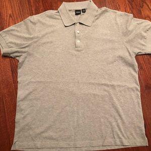 Men's Hugo Boss Polo Shirt- Gray